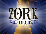 Screenshot of Zork: Grand Inquisitor introduction screen